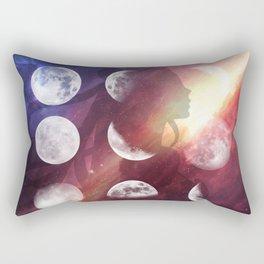 Moon Goddess Selene Rectangular Pillow