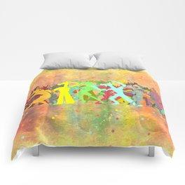 Conga Line Unicorns Comforters