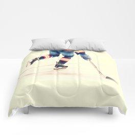 The Sport Of Hockey Comforters
