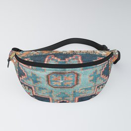 Karabakh  Antique South Caucasus Azerbaijan Rug Fanny Pack