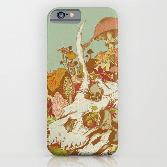 skulls in spring iPhone & iPod Case