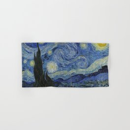 The Starry Night by Vincent van Gogh Hand & Bath Towel
