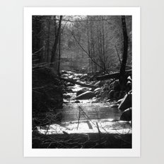 Places in Black & White: Whiskeytown 5 Art Print