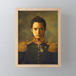 Elijah Wood - replaceface Framed Mini Art Print