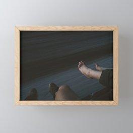 Arizona Freight Riding Framed Mini Art Print