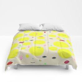 Boom print Comforters