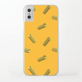 pasta rigatoni Clear iPhone Case