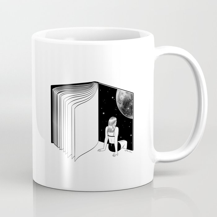 Reading is Dreaming with Your Eyes Open Coffee Mug