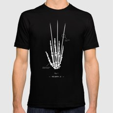 Weapon-X LARGE Black Mens Fitted Tee