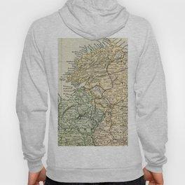 Encyclopedia Retro Map of Northern Ireland Hoody