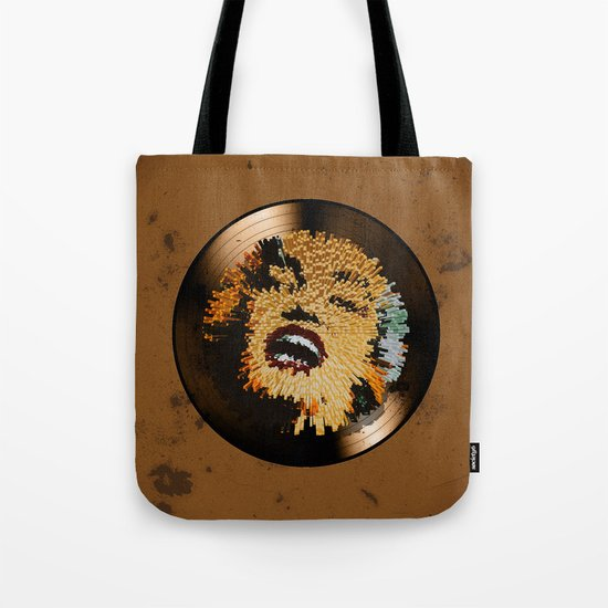 Vinyl No.4 Tote Bag
