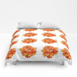 Siberian flower pattern Comforters