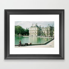 Summers Day Framed Art Print