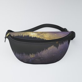 Campfire Under the Stars by OLena Art Fanny Pack