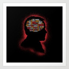 Crowley's Phrenology Art Print
