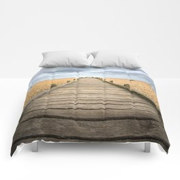 Beach Walkway Comforters