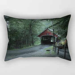 A Mountain Road Rectangular Pillow