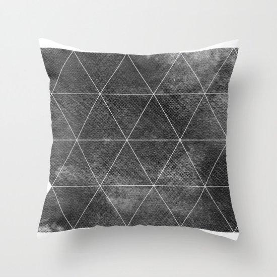 OVERCΔST Throw Pillow