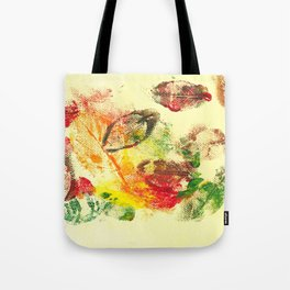 Autumn Leaves In The Ivory Sky Tote Bag