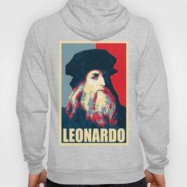Leonardo Da Vinci Propaganda Pop Art Hoody