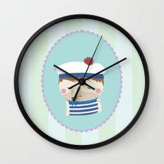 ship's boy Wall Clock