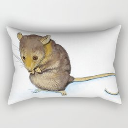 Mountain Pygmy-possum (Burramys parvus) Australian Native Rectangular Pillow