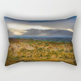 Overlook From Bradbury Mountain Rectangular Pillow