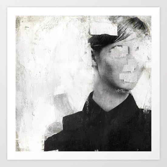 Faceless   number 01 Art Print