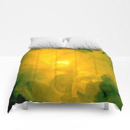 Textures (Yellow version) Comforters