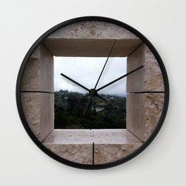 Window to the World Wall Clock