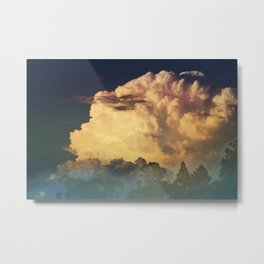 Thunderhead at Dawn Metal Print