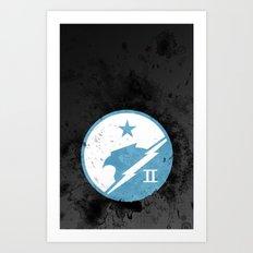 Halo - Blue Team Art Print