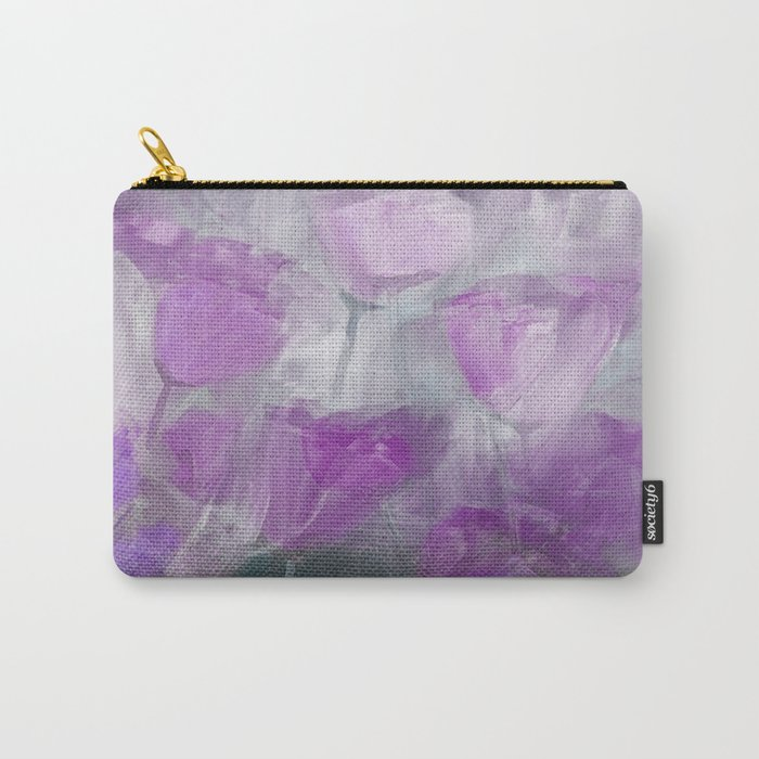 Shades of Lilac Carry-All Pouch