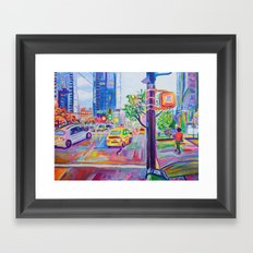 Wall Centre From Nelson And Burrard, Vancouver Framed Art Print