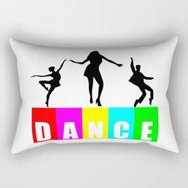 dance logo Rectangular Pillow