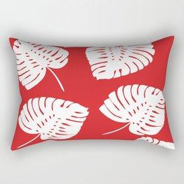 Tropical Red Rectangular Pillow