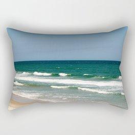Waves On The Atlantic Coast Rectangular Pillow