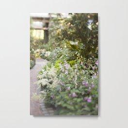 The Garden Path Metal Print
