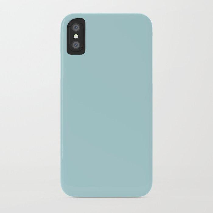 Simply Pretty Blue iPhone Case