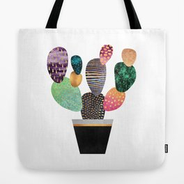 Pretty Cactus Tote Bag