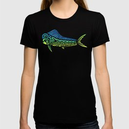 Tribal Mahi Mahi T-shirt