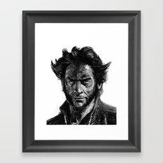 'W' Framed Art Print