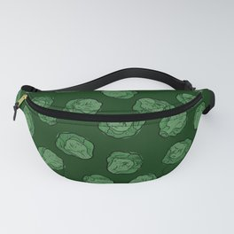 Brussels Sprouts Pattern Fanny Pack