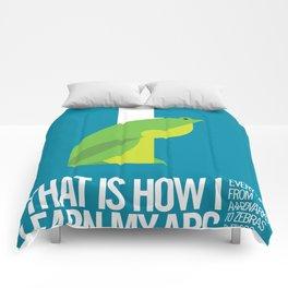 Animal Alphabet F Comforters