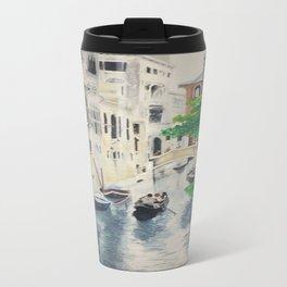 Venice digital print Travel Mug