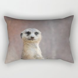 I Call Him Uncle Bob And He Was Ready For His Closeup Rectangular Pillow