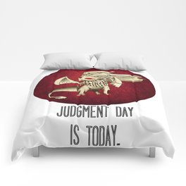 Judgment Dragon inspired card Comforters