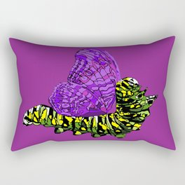 Fibro awareness butterfly. Rectangular Pillow