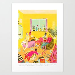 A Velocity of Being: Mouni Feddag Art Print