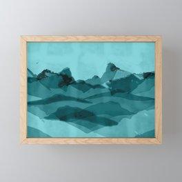 Mountain X 0.1 Framed Mini Art Print